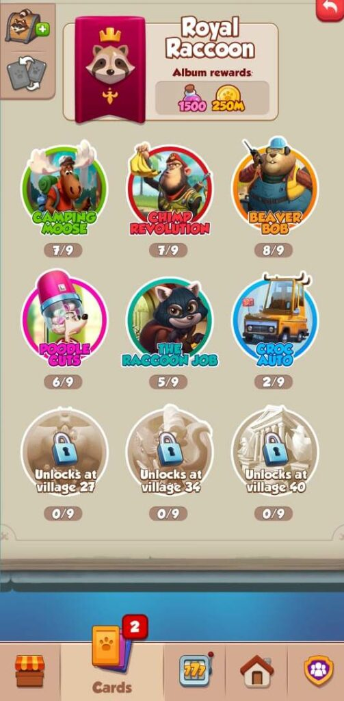 Pet Master Collect Cards